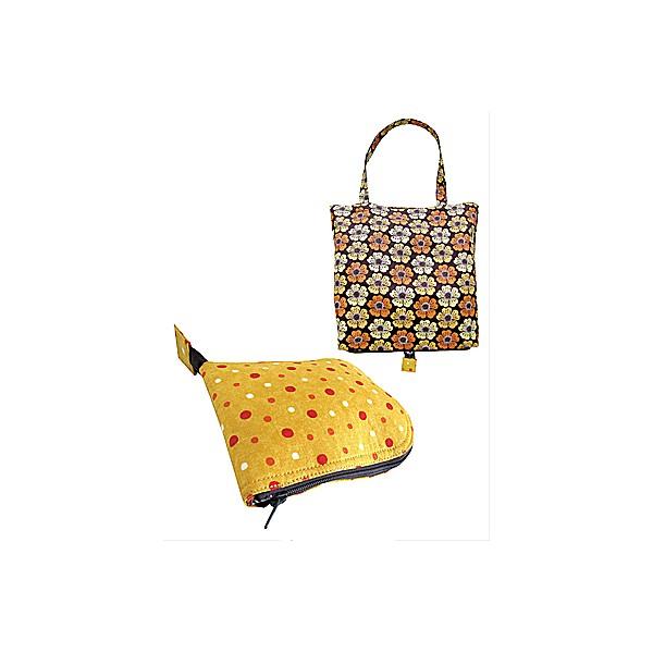 Nicole Mallalieu Design / You SEW Girl! - Zip-Away Shopping Bag